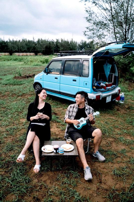 Gia đình vi vu khắp Việt Nam bằng ôtô tự cải tạo - Ảnh 6.