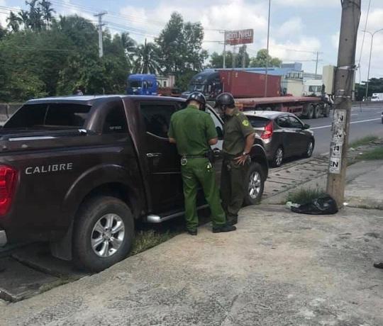Nóng: Điều tra vụ cướp giật hơn 200 triệu đồng tại cổng phòng công chứng ở Đồng Nai - Ảnh 1.