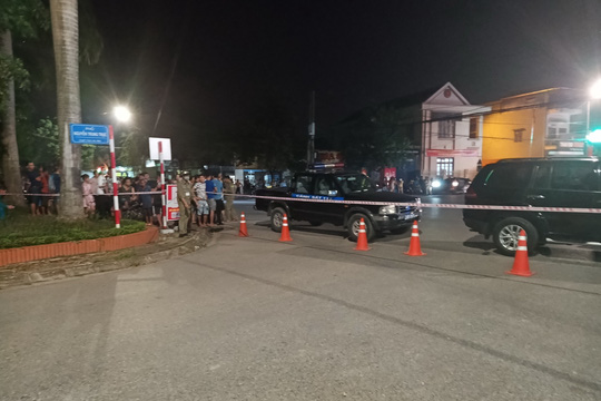 Bắt nghi phạm vụ nổ súng khiến 2 người thương vong ở Thái Nguyên - Ảnh 2.