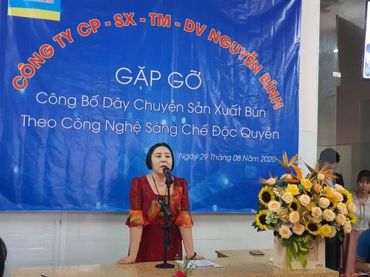 Bún Nguyễn Bính ra mắt dây chuyền sản xuất bún mới - Ảnh 2.