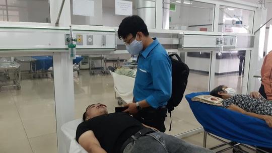 Điều tra vụ việc 2 công an xô xát, 1 người bị vỡ xương hàm - Ảnh 1.