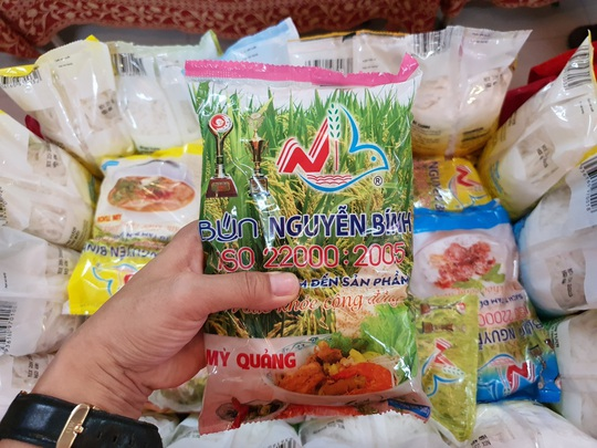Bún Nguyễn Bính ra mắt dây chuyền sản xuất bún mới - Ảnh 1.