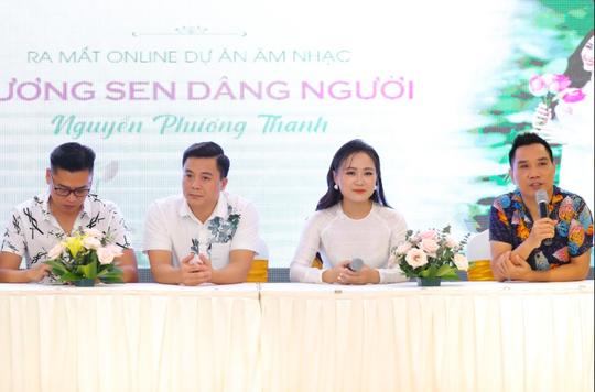 Ca sĩ Nguyễn Phương Thanh ra mắt dự án Hương sen dâng Người - Ảnh 3.