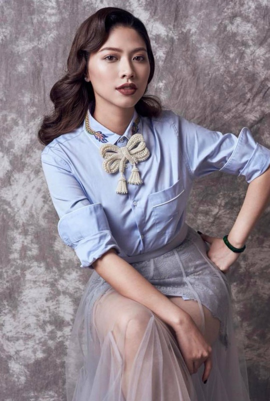Gu thời trang sành điệu của BTV Ngọc Trinh - Ảnh 7.