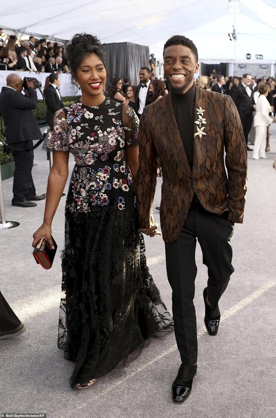 """Chuyện tình vượt bệnh tật của vợ chồng """"báo đen"""" Chadwick Boseman - Ảnh 2."""