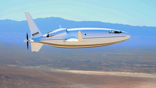 Mỹ ra mắt máy bay có hình viên đạn sau 3 năm giữ bí mật - Ảnh 2.