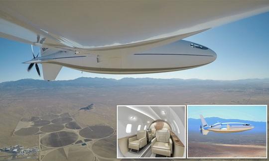 Mỹ ra mắt máy bay có hình viên đạn sau 3 năm giữ bí mật - Ảnh 3.