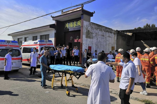 Vụ sập nhà hàng ở Trung Quốc: 29 người thiệt mạng, thêm nhiều người bị thương - Ảnh 6.