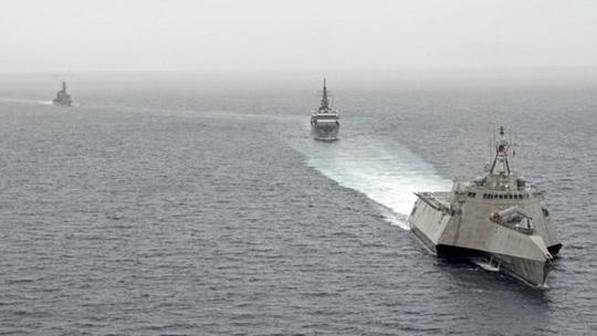 Ấn Độ đưa tàu chiến đến biển Đông, Trung Quốc bực bội - Ảnh 1.