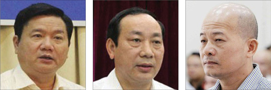 Ông Đinh La Thăng, Nguyễn Hồng Trường tiếp tay Út trọc - Ảnh 1.