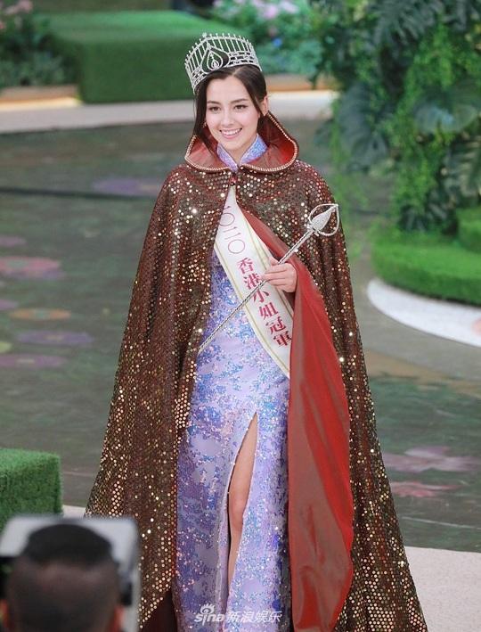 Nhan sắc tân Hoa hậu Hồng Kông gây tranh cãi - Ảnh 3.