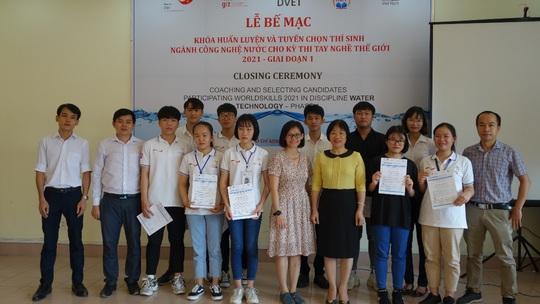 3 thí sinh đại diện Việt Nam tham gia cuộc thi Tay nghề thế giới ngành công nghệ nước - Ảnh 1.