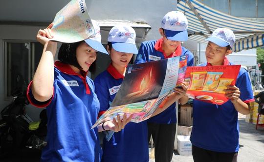 TP HCM: 5.400 sinh viên tình nguyện Tiếp sức mùa thi 2020 - Ảnh 1.