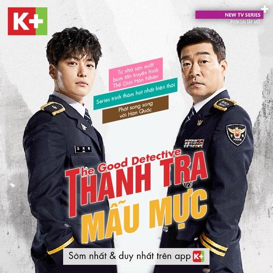 Bom tấn truyền hình The Good Detective được phát sóng tại Việt Nam - Ảnh 1.