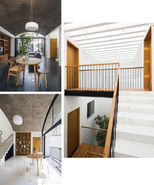 Ngôi nhà như hang động nhờ thiết kế không gian vòm độc đáo - Ảnh 5.