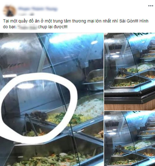 AEON Việt Nam xin lỗi vì để chuột bò vào tủ thức ăn - Ảnh 1.