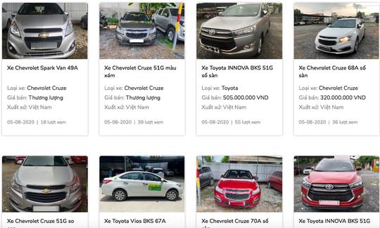 Ngân hàng chạy đua phát mãi ôtô giá chỉ từ 200 triệu đồng/chiếc - Ảnh 1.