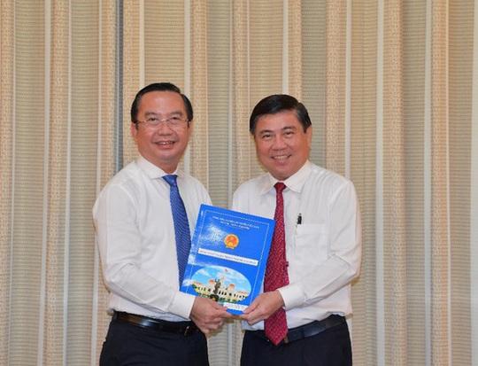 Chánh Văn phòng Thành ủy TP HCM làm Giám đốc Sở Văn hóa và Thể thao - Ảnh 1.