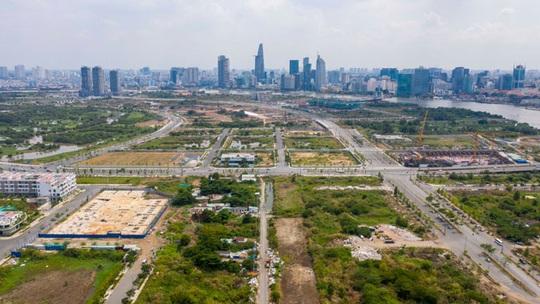 Xây dựng 4 tuyến đường ở Thủ Thiêm: Kiểm toán Nhà nước đề nghị giảm hàng trăm tỉ đồng - Ảnh 1.