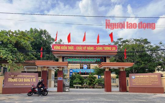 125 học viên cao đẳng liên thông ngành y ở Quảng Bình bất ngờ bị thu hồi bằng tốt nghiệp - Ảnh 1.