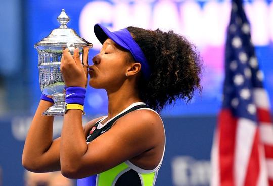 Clip Naomi Osaka lần thứ 2 đăng quang giải Mỹ mở rộng - Ảnh 4.