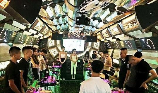 13 nam, nữ thanh niên mở tiệc ma túy ở quán Thiên Đường - Ảnh 1.