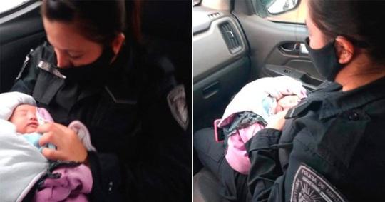 Bé gái sơ sinh Argentina bị bỏ rơi trong túi nhựa với con dao trên lưng - Ảnh 1.