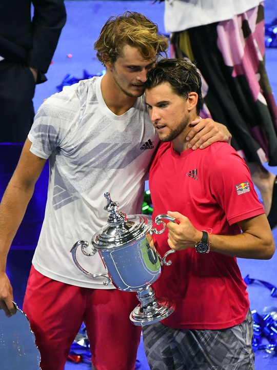 Chùm ảnh Dominic Thiem ngược dòng thắng, đăng quang US Open 2020 - Ảnh 10.