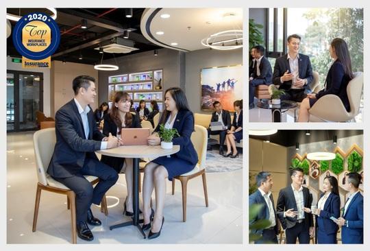 """Chubb Life Việt Nam được vinh danh """"Nơi làm việc Bảo hiểm tốt nhất năm 2020"""" - Ảnh 2."""