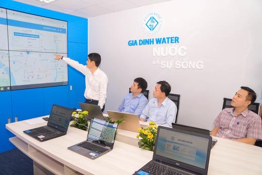 Cấp nước bằng công nghệ thông minh - Ảnh 1.