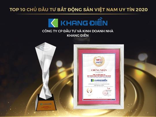 Trao giải Top 50 DN tăng trưởng xuất sắc nhất Việt Nam và Top 10 chủ đầu tư BĐS Việt Nam uy tín năm 2020 - Ảnh 2.