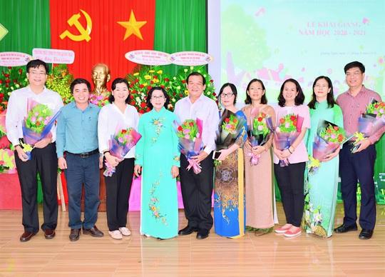 Trung tâm nuôi dạy trẻ khuyết tật Võ Hồng Sơn khai giảng năm học mới - Ảnh 4.