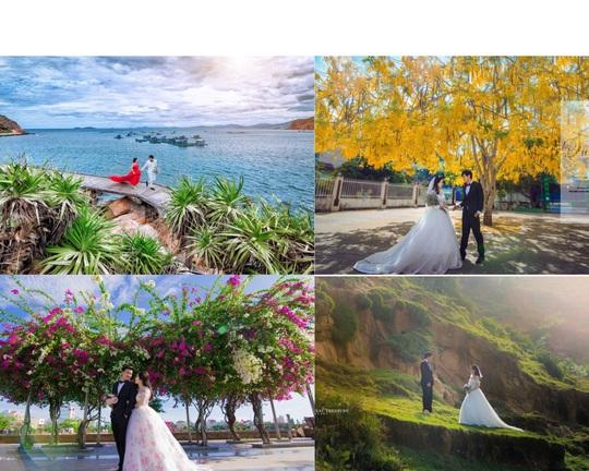 Quy Nhơn lãng mạn và nên thơ qua những shoot hình cưới đẹp như tranh vẽ - Ảnh 2.