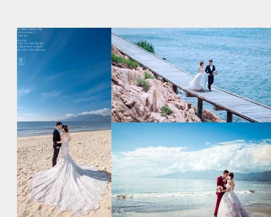Quy Nhơn lãng mạn và nên thơ qua những shoot hình cưới đẹp như tranh vẽ - Ảnh 3.