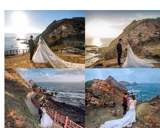 Quy Nhơn lãng mạn và nên thơ qua những shoot hình cưới đẹp như tranh vẽ - Ảnh 4.