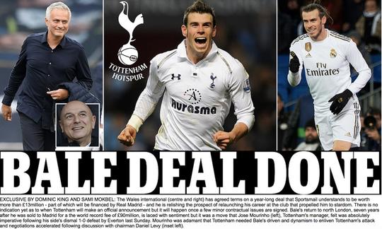 Chấn động: Gareth Bale đồng ý gia nhập Tottenham - Ảnh 1.