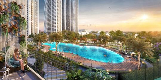 """Sống như """"nghỉ dưỡng"""" với bể bơi phong cách resort tại Imperia Smart City - Ảnh 1."""