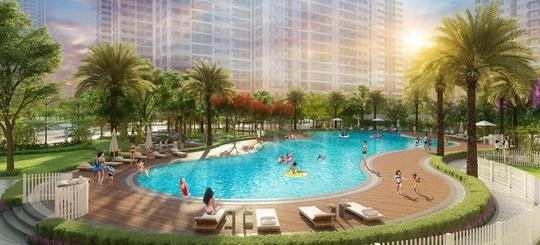 """Sống như """"nghỉ dưỡng"""" với bể bơi phong cách resort tại Imperia Smart City - Ảnh 2."""