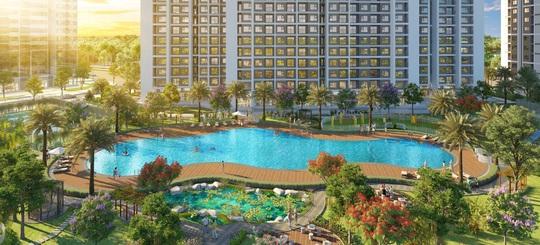 """Sống như """"nghỉ dưỡng"""" với bể bơi phong cách resort tại Imperia Smart City - Ảnh 3."""