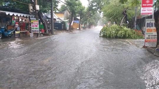 Chùm ảnh trước bão: Đà Nẵng mưa xối xả ngập đường, sấm sét vang trời - Ảnh 15.