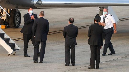 18 máy bay Trung Quốc tiếp cận Đài Loan khi thứ trưởng Mỹ thăm hòn đảo - Ảnh 1.