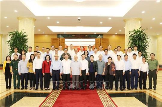 Tổng Bí thư, Chủ tịch nước chủ trì buổi làm việc với Thường vụ Thành ủy Hà Nội - Ảnh 9.