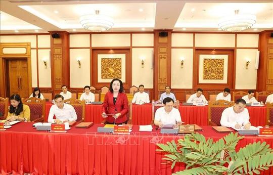 Tổng Bí thư, Chủ tịch nước chủ trì buổi làm việc với Thường vụ Thành ủy Hà Nội - Ảnh 11.