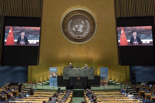 Trung Quốc nổi giận với phát biểu của Tổng thống Trump tại Liên Hiệp Quốc - Ảnh 1.