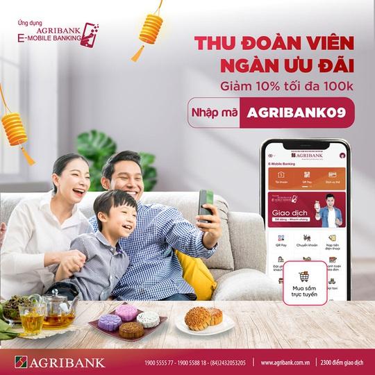 Nhận ngay ưu đãi khi mua sắm trực tuyến trên Agribank E-Mobile Banking - Ảnh 1.
