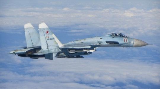 Tàu chiến Nga săn đuổi chiến hạm NATO, Su-27 xuất kích chặn B-52 ở biển Đen - Ảnh 1.