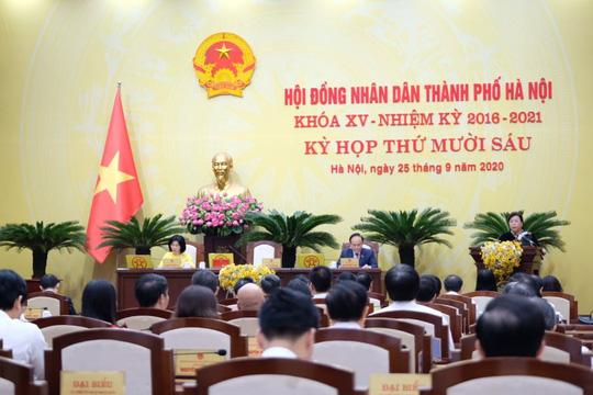 100% đại biểu HĐND TP Hà Nội đồng ý bãi nhiệm ông Nguyễn Đức Chung - Ảnh 3.