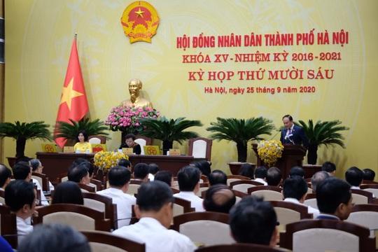 100% đại biểu HĐND TP Hà Nội đồng ý bãi nhiệm ông Nguyễn Đức Chung - Ảnh 4.