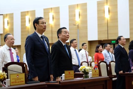 100% đại biểu HĐND TP Hà Nội đồng ý bãi nhiệm ông Nguyễn Đức Chung - Ảnh 6.