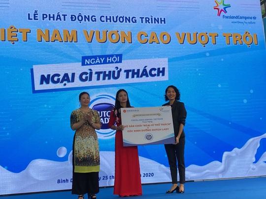"""Sân chơi """"Ngại gì thử thách"""" của sữa Cô Gái Hà Lan vì một Việt Nam vươn cao - Ảnh 1."""